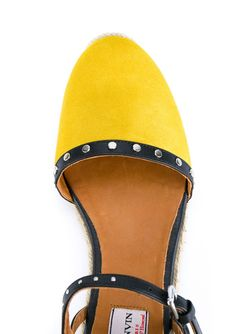 Эспадрильи С Заплатками Lanvin                                                                                                              желтый цвет