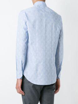 Paisley Print Shirt Etro                                                                                                              синий цвет