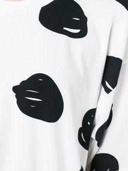Футболка В Горох Jeremy Scott                                                                                                              белый цвет