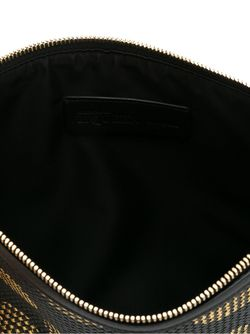 Клатч В Горох Alexander McQueen                                                                                                              чёрный цвет