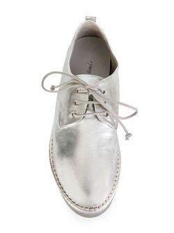 Ботинки Дерби С Резиновой Подошвой Marsell                                                                                                              серебристый цвет