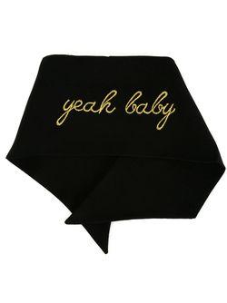 Платок Yeah Baby Saint Laurent                                                                                                              чёрный цвет
