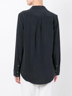 Классическая Рубашка Equipment                                                                                                              чёрный цвет