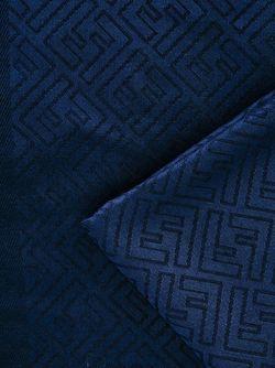 Шарф С Жаккардовым Узором Логотипа Fendi                                                                                                              синий цвет