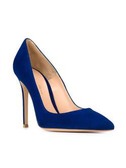 Туфли Gianvito Gianvito Rossi                                                                                                              синий цвет