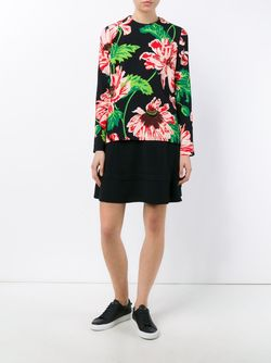 Louisa Print Blouse Stella Mccartney                                                                                                              чёрный цвет