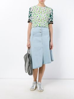 Sybille Slit Sleeve Top Stella Mccartney                                                                                                              многоцветный цвет