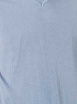 Свитер C V-Образным Вырезом Loro Piana                                                                                                              синий цвет