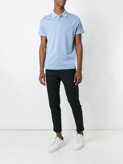 Classic Polo Shirt Loro Piana                                                                                                              синий цвет