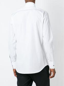 Классическая Рубашка Dsquared2                                                                                                              белый цвет