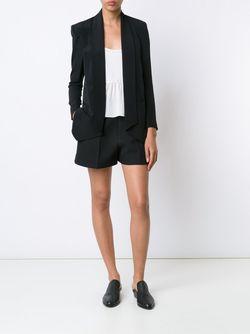 Пиджак С Лацканами-Шалькой Rebecca Minkoff                                                                                                              черный цвет