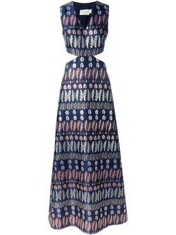 Платье Без Рукавов Tory Burch                                                                                                              синий цвет