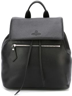 Рюкзак С Откидным Клапаном Vivienne Westwood                                                                                                              чёрный цвет