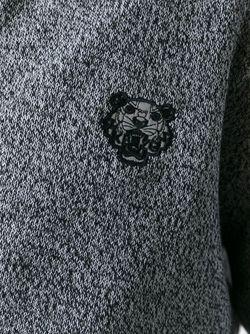 Толстовка Tiger На Молнии Kenzo                                                                                                              серый цвет