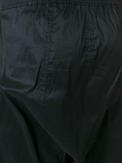 Брюки С Заниженным Шаговым Швом Rick Owens                                                                                                              чёрный цвет