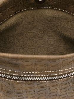 Сумка-Почтальонка Gancini Salvatore Ferragamo                                                                                                              коричневый цвет