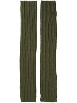 Митенки Scaldabraccia Rick Owens                                                                                                              зелёный цвет