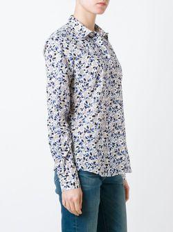 Рубашка С Растительным Принтом Fay                                                                                                              None цвет