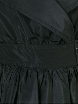 Расклешенный Тренч Alexander McQueen                                                                                                              чёрный цвет