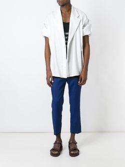 Рубашка В Стиле Блейзера Haider Ackermann                                                                                                              белый цвет