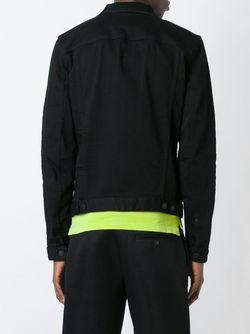 Джинсовая Куртка Dsquared2                                                                                                              чёрный цвет