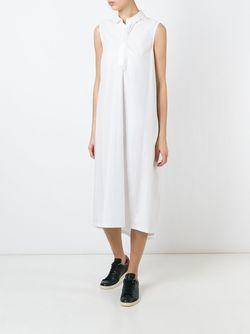 Cocoon Shirt Dress 08SIRCUS                                                                                                              белый цвет