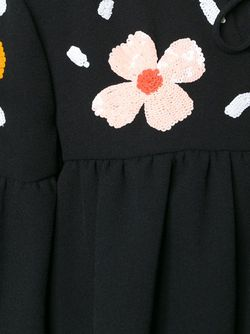 Блузка С Пайетками Au Jour Le Jour                                                                                                              черный цвет