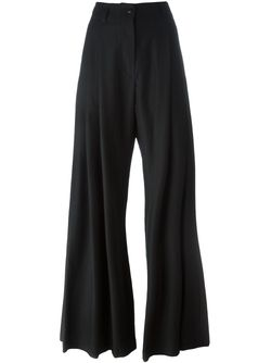 High Waist Palazzo Pants Ann Demeulemeester Icon                                                                                                              чёрный цвет