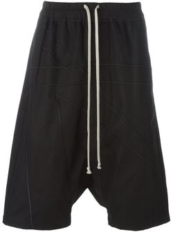 Drop Crotch Shorts Rick Owens                                                                                                              черный цвет