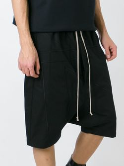Drop Crotch Shorts Rick Owens                                                                                                              чёрный цвет