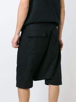 Drop Crotch Shorts Rick Owens                                                                                                              чёрный цвет