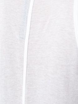 Топ Без Рукавов C V-Образным Вырезом Rick Owens Lilies                                                                                                              белый цвет