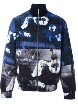 Куртка-Бомбер С Принтом Hyper Mcq Alexander Mcqueen                                                                                                              многоцветный цвет
