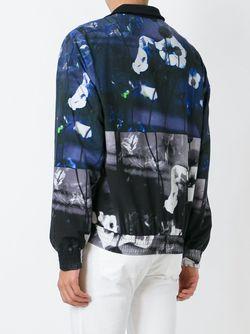 Куртка-Бомбер С Принтом Hyper Floral Mcq Alexander Mcqueen                                                                                                              многоцветный цвет