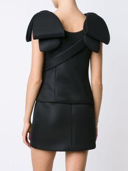 Блузка Scuba Simone Rocha                                                                                                              черный цвет