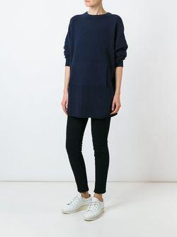 Вязаный Свитер Extreme Cashmere                                                                                                              синий цвет