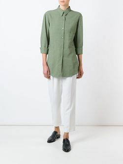 Side Pocket Shirt LEMAIRE                                                                                                              зелёный цвет