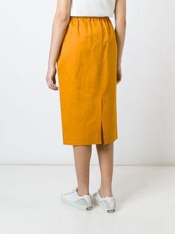 Юбка На Резинке Sofie D'Hoore                                                                                                              желтый цвет