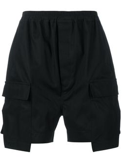 Cotton Cargo Shorts Rick Owens                                                                                                              черный цвет
