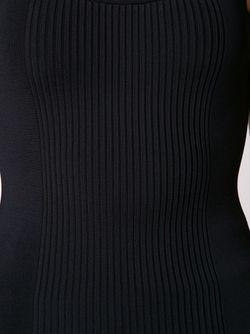 Топ С Цепочными Лямками Alexander Wang                                                                                                              чёрный цвет
