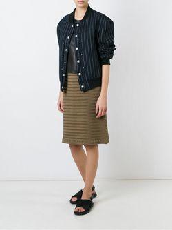 Wave Pleat A-Line Skirt Issey Miyake                                                                                                              коричневый цвет