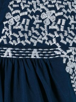 Embroidered Detail Dress Steffen Schraut                                                                                                              синий цвет