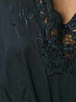 Платье С Вышивкой P.A.R.O.S.H.                                                                                                              черный цвет