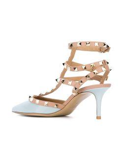 Туфли Rockstud Valentino Garavani                                                                                                              розовый цвет
