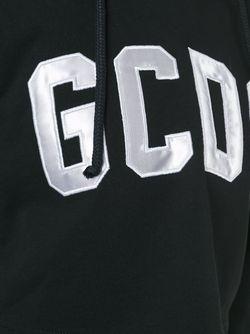 Logo Patch Cropped Hoodie Gcds                                                                                                              черный цвет