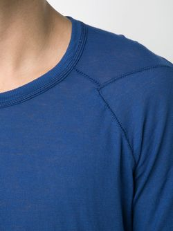 Удлиненная Футболка BORIS BIDJAN SABERI                                                                                                              синий цвет