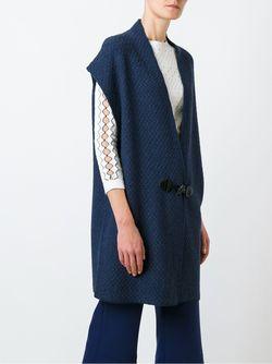 Пальто С Застежкой-Тогл Bark                                                                                                              синий цвет