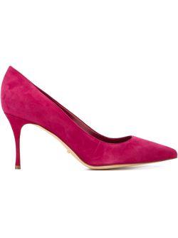 Классические Туфли Sergio Rossi                                                                                                              розовый цвет