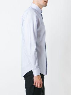 Рубашка С Мелким Узором Etro                                                                                                              синий цвет
