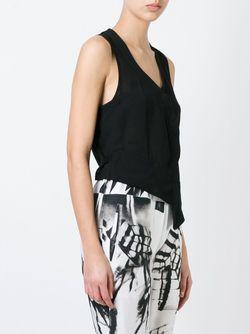 Asymmetric Top Ann Demeulemeester                                                                                                              чёрный цвет
